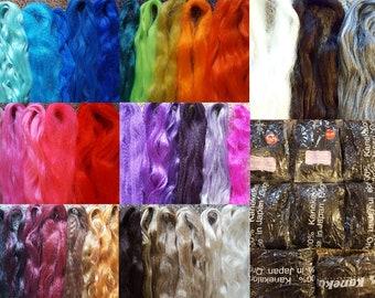 Discount Lot - KK Braiding Hair Multi Color - 100% Kanekalon Jumbo Braid
