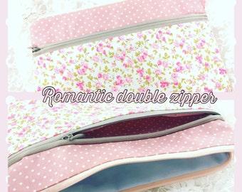 Double Zipper Pouch