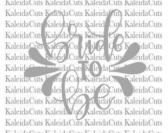 PRINT YOUR OWN Stencil. Bride to Be Lettering. Hand Lettered Design. Matching Cookie Cutter.