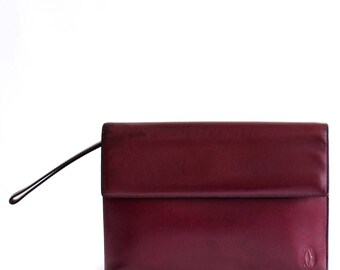 Vintage Cartier clutch bag