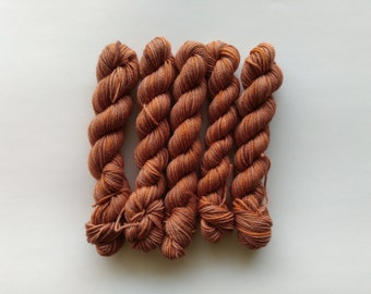Carrot Cupcake - Organic Sock (Treated Merino/Nylon)