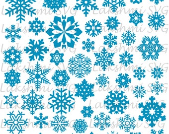 Christmas Svg, Snowflake svg, snowflake clipart, snowflake silhouette and cricut cut files. snowflake digital download svg,DXF