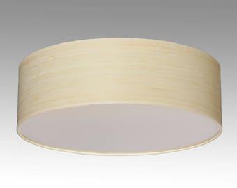 Ceiling lamp Bamboo, D. 40 cm, H. 12 cm, 3xE27