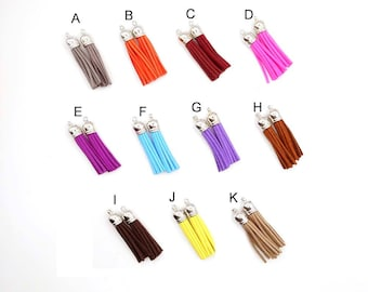 Tassel Charms -2 Of One Color - You Choose -22-36-3