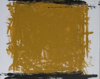 Abstract Minimal Untitled No.0450 30x24 Acrylic on Canvas Modern Industrial