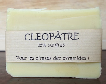 Soap The Cleopatra: natural and organic handmade soap 15% surgras