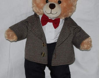 11th Doctor bear. Doctor Who Eleven