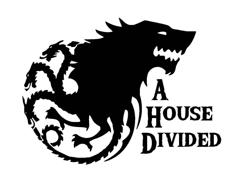 Game Of Thrones A House Divided Stark Targaryen Vinyl