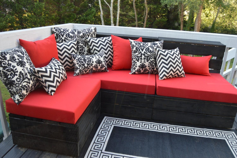 Outdoor Pallet Sofa Cushions Www Redglobalmx Org Indoor Pallet Sofa