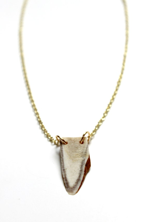 Delicate Antler Necklace