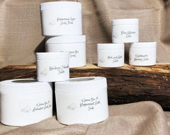 Natural, Organic, Healing Salves and Skin Care - Peppermint Sugar Body Scrub