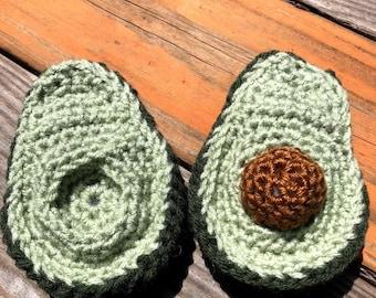 Crochet Avocado Pattern