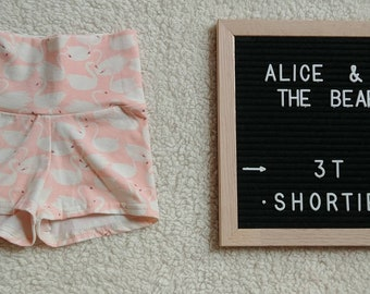 3T Shorties - toddler girl shorts