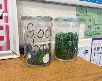 Behavior Management Marble Jar
