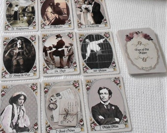 Days of Old Kipper (1920s version) Fortune Telling Cards. Brand New. Self Published.