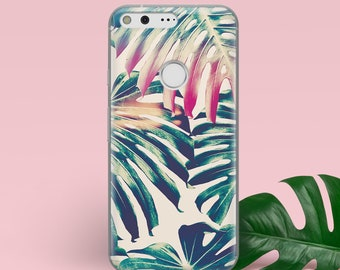 Tropical Leaves iPhone X Case iPhone 8 Plus Case iPhone 7 Case iPhone 8 Case iPhone 7 Plus Case iPhone 5 Case iPhone 7 Plus Case YZ1002