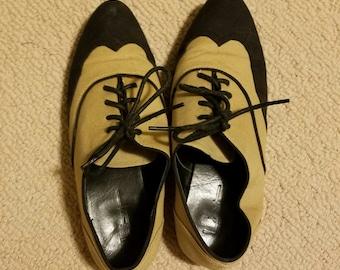 Vintage Colorblock Oxford Loafer Shoes 7