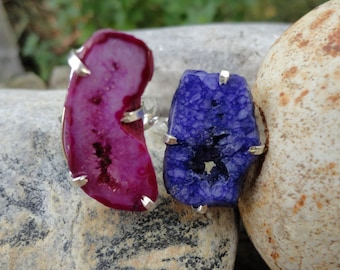 ring Silver 925 agate