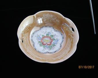 Rare Vinatge Japanese Lusterware Bowl