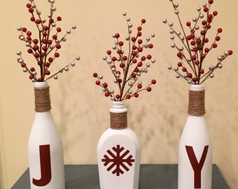 JOY Christmas Centerpiece
