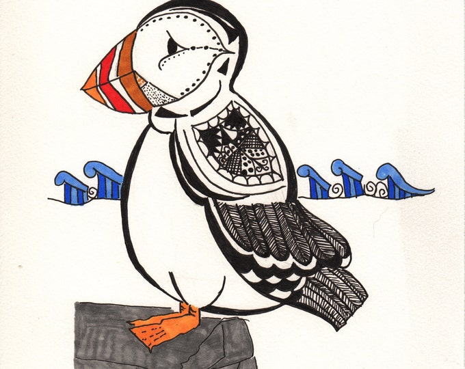 The Puffin Cards