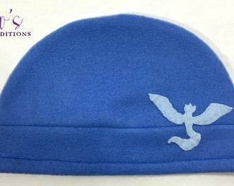 Pokemon Go Hat - Team Mystic - Pokemon Fleece Hat - Super Cozy Beanie