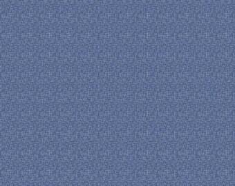 Denim Hashtag Small - Riley Blake Designs - White on Denim Blue - Quilting Cotton Fabric - choose your cut