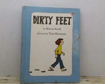 Dirty Feet, 1980, Steven Kroll, Toni Hormann, vintage kids book