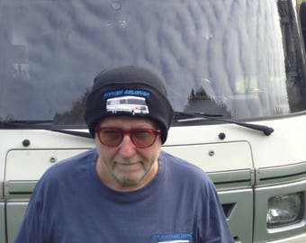 Fiat HYMER BELIEVER Beanie Hat For The Discerning Hymer Lover in Black