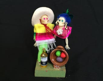 Day of the dead skeleton couple #7