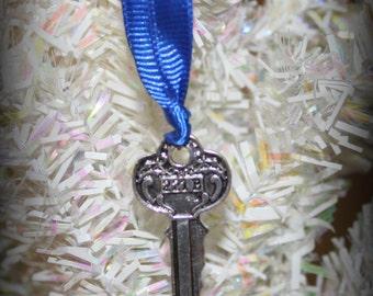 Sherlock Holmes 221B House Key Christmas Ornament