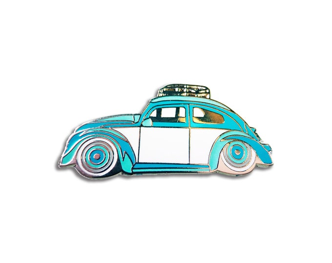 Blue Bug Pin