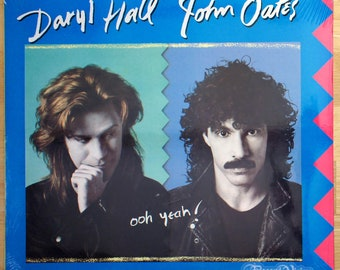 Hall and Oates - Ooh Yeah (1988) [SEALED] Vinyl LP  Daryl & John, Downtown Life