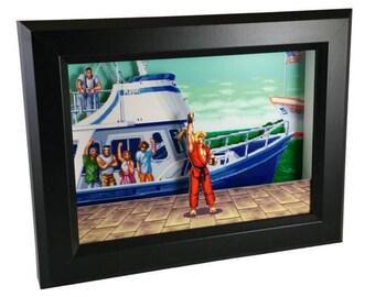 Street Fighter II (SNES) Ken Masters Shadow Box