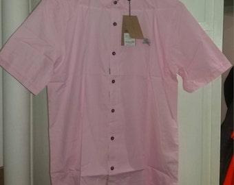 Burberry, Burberrys, Prorsum  XL Pink Button down dress shirt