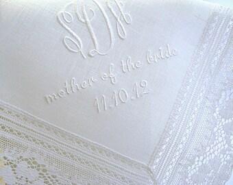 Wedding handkerchief, Wedding hankerchiefs, Wedding handkerchiefs, Wedding hankerchief, mother of the bride handkerchief, mom handkerchiefs