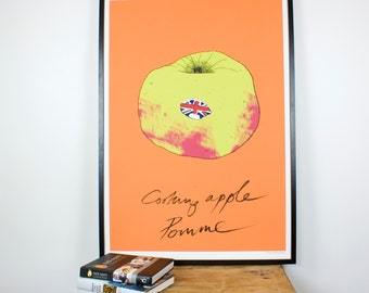High Quality Bramley Apple kitchen wall print - Giclee print