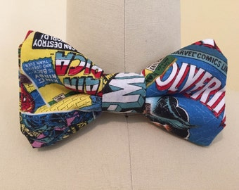 Marvel Themed Bowtie - Nerf Herder Neckties
