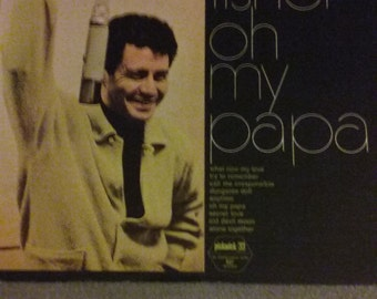 "1964 Eddie Fisher 33 LP ""Oh My Papa"" Album"