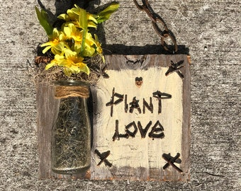 Plant Love Wallhanging