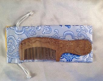 A0014- Wooden Comb