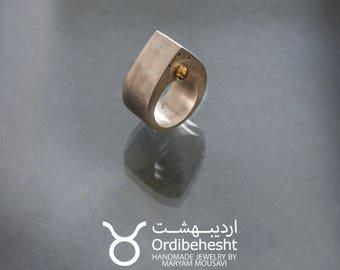 Tear shape Ring