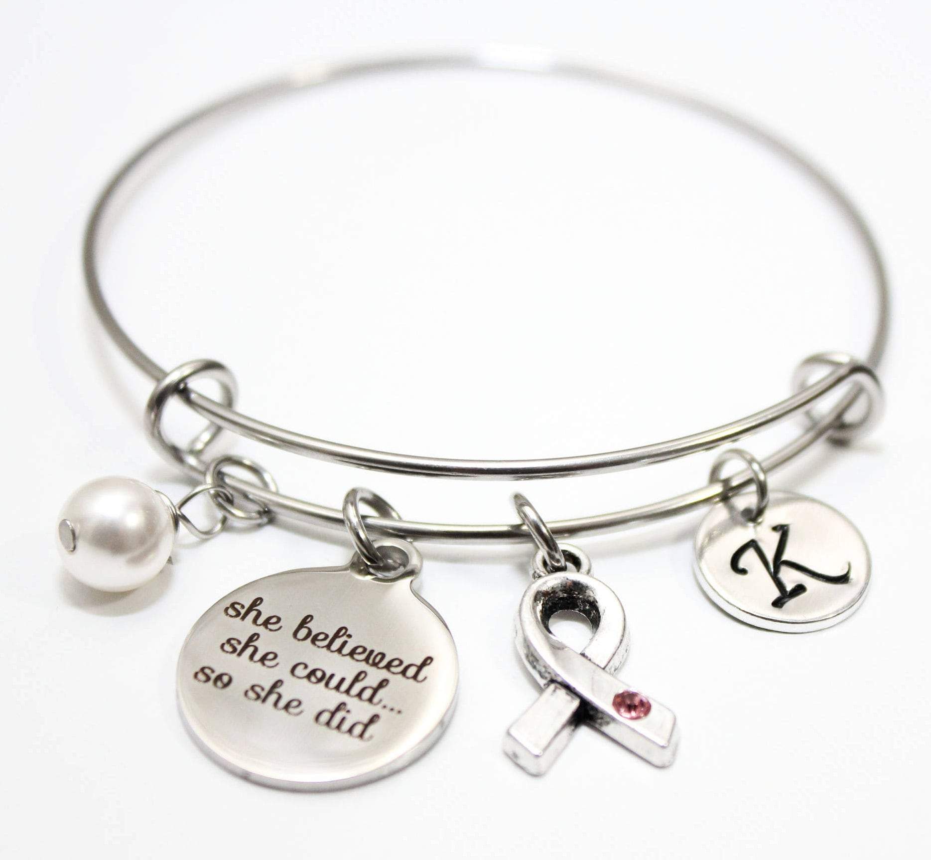 bangle description fullxfull listing features breast bracelet il cancer survivor