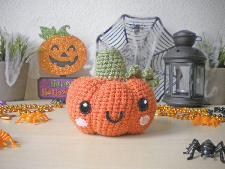 Kết quả hình ảnh cho Stuffed Crochet Pumpkin