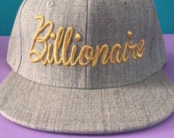 Gold Billionaire Hat