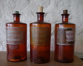 Great old bottles of pharmacist