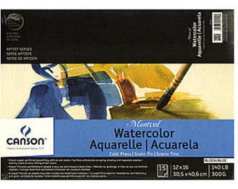 Canson Montval Watercolor  Paper (12 in. X 16 in.)
