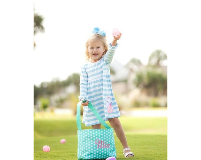 Monogrammed Easter Basket, Monogram Easter Basket, Personalized Easter Basket, Girls Easter Basket, Boys Easter Basket