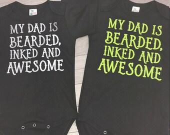 Bearded, inked & awesome