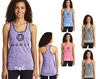 Monat Electric Heather Racerback Tank, Monat Racerback Tank, Monat Tank, Tank Top, Monat Clothing, Monat